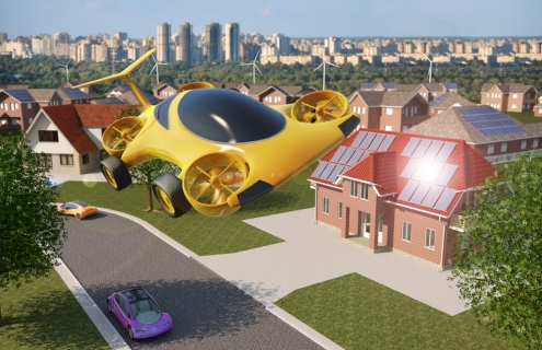 Flying Cars Are No Longer Science Fiction