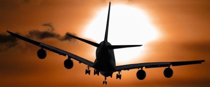 Air Travel Collapse Oil